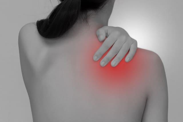 肩関節腱板炎の写真